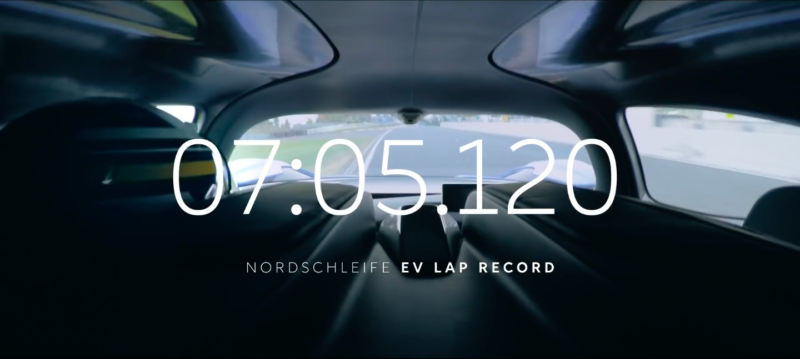 NextEV's Nio EP9 electric supercar sets a new Nürburgring record