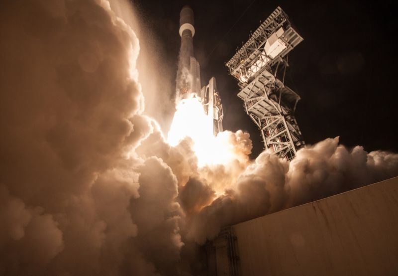 A United Launch Alliance Atlas V 541 lifts off with NASA's GOES-R satellite in November.