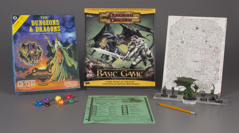 <em>Dungeons & Dragons</em>, one of this year's inductees into the Toy Hall of Fame.