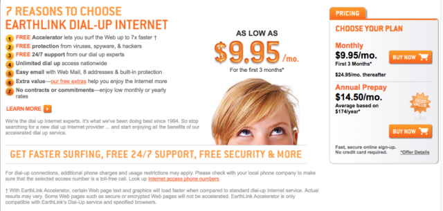 Dial Up Pioneer Earthlink Still Exists And It S Merging