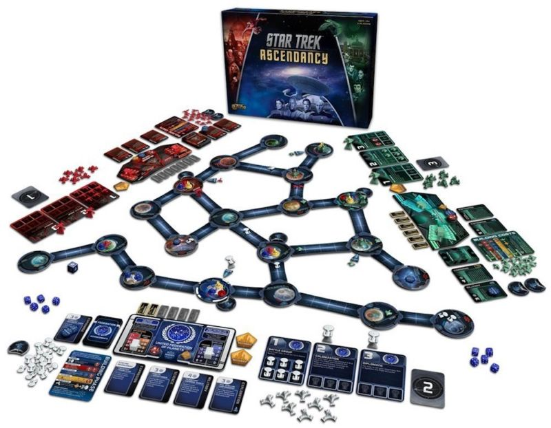 Star Trek: Ascendancy puts you in charge of a galactic empire