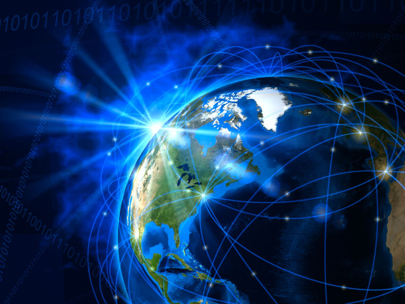 SpaceX Plans Worldwide Satellite Internet With Low Latency - World earth