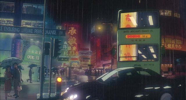 <em>Ghost in the Shell</em> is perhaps at its most arresting when nothing in particular is happening. The movie's depiction of humanity—achingly alone even in a crowded future city—is very beautiful.