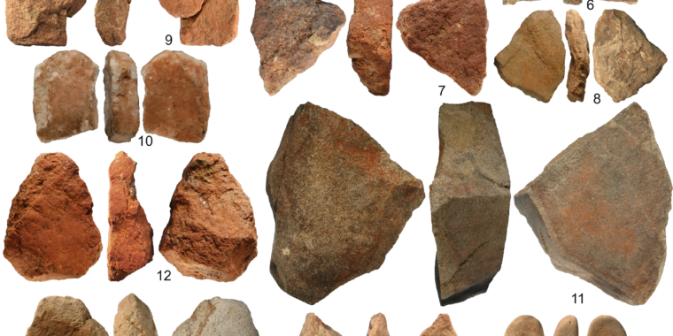 Incredible discovery of 40,000-year-old tools for art and engineering