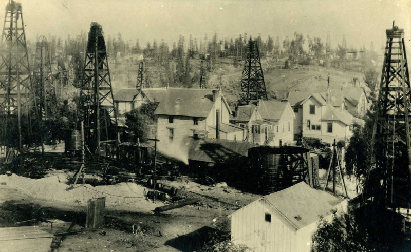 The City of (oil-pumping) Angels, around 1900.