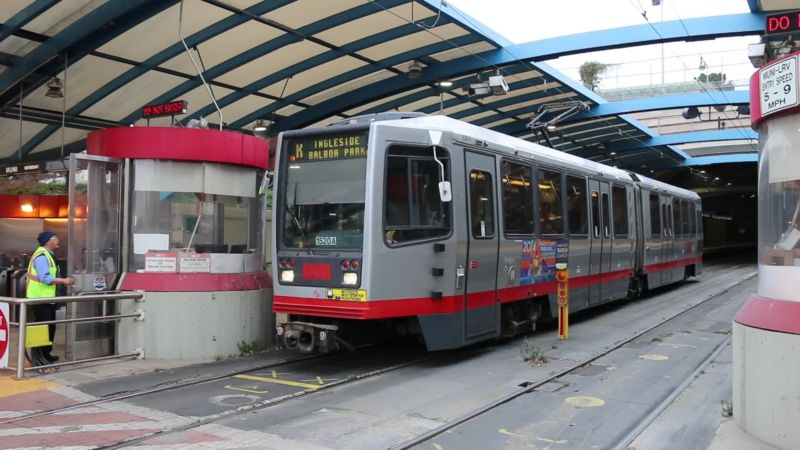 Hackers took down the computer system for San Francisco's Muni metro line