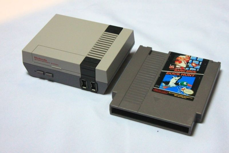 You might have better luck finding that classic cartridge than the miniature NES this holiday season...