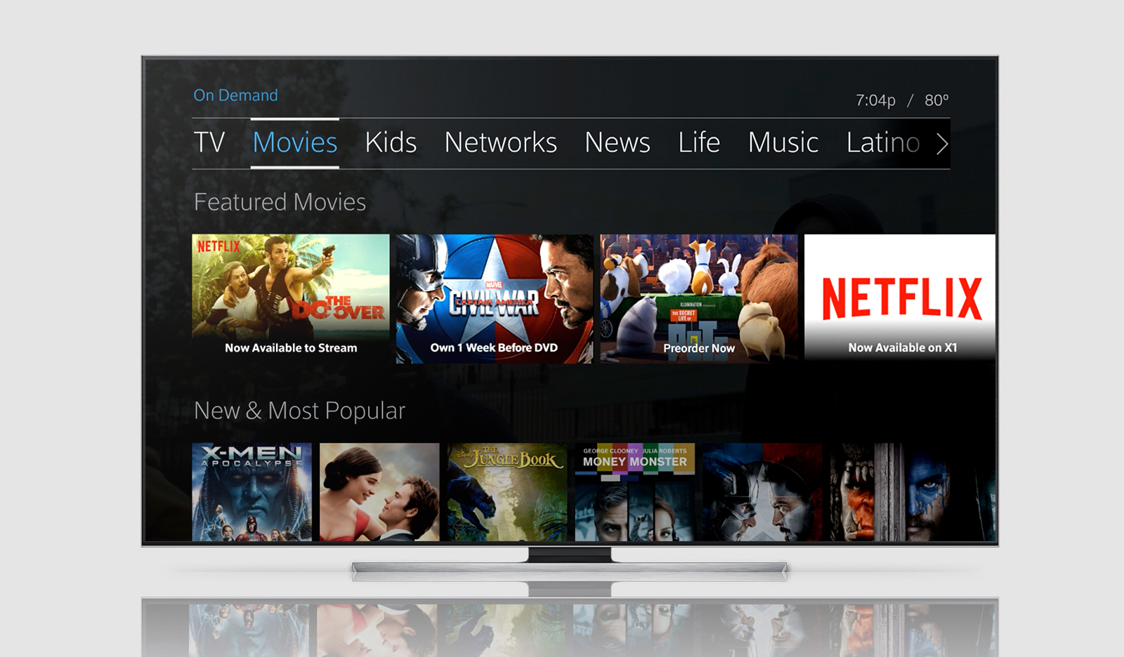 Netflix arrives on Comcast TV boxes, won't be exempt from data cap