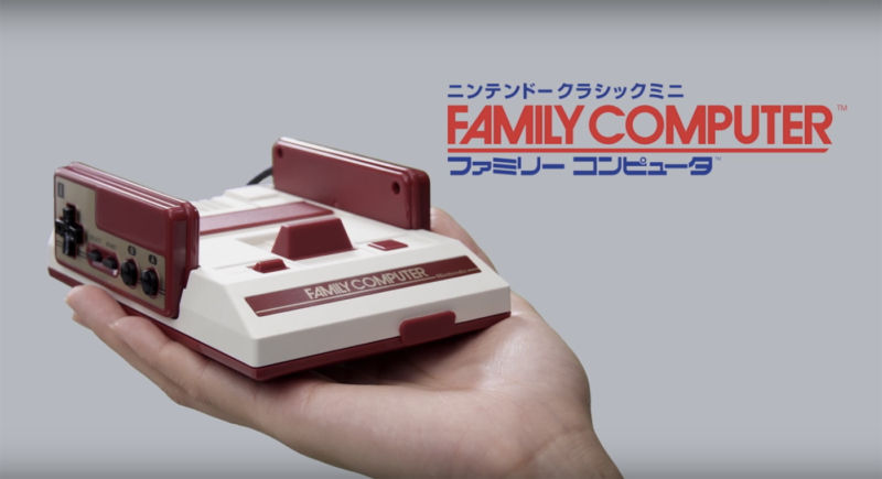 Nintendo Mini Famicom sells out in Japan, Mini NES sells out online in UK
