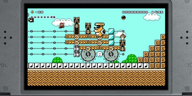 There S A Great 2d Mario Game Buried In The Busted 3ds Super Mario Maker Ars Technica