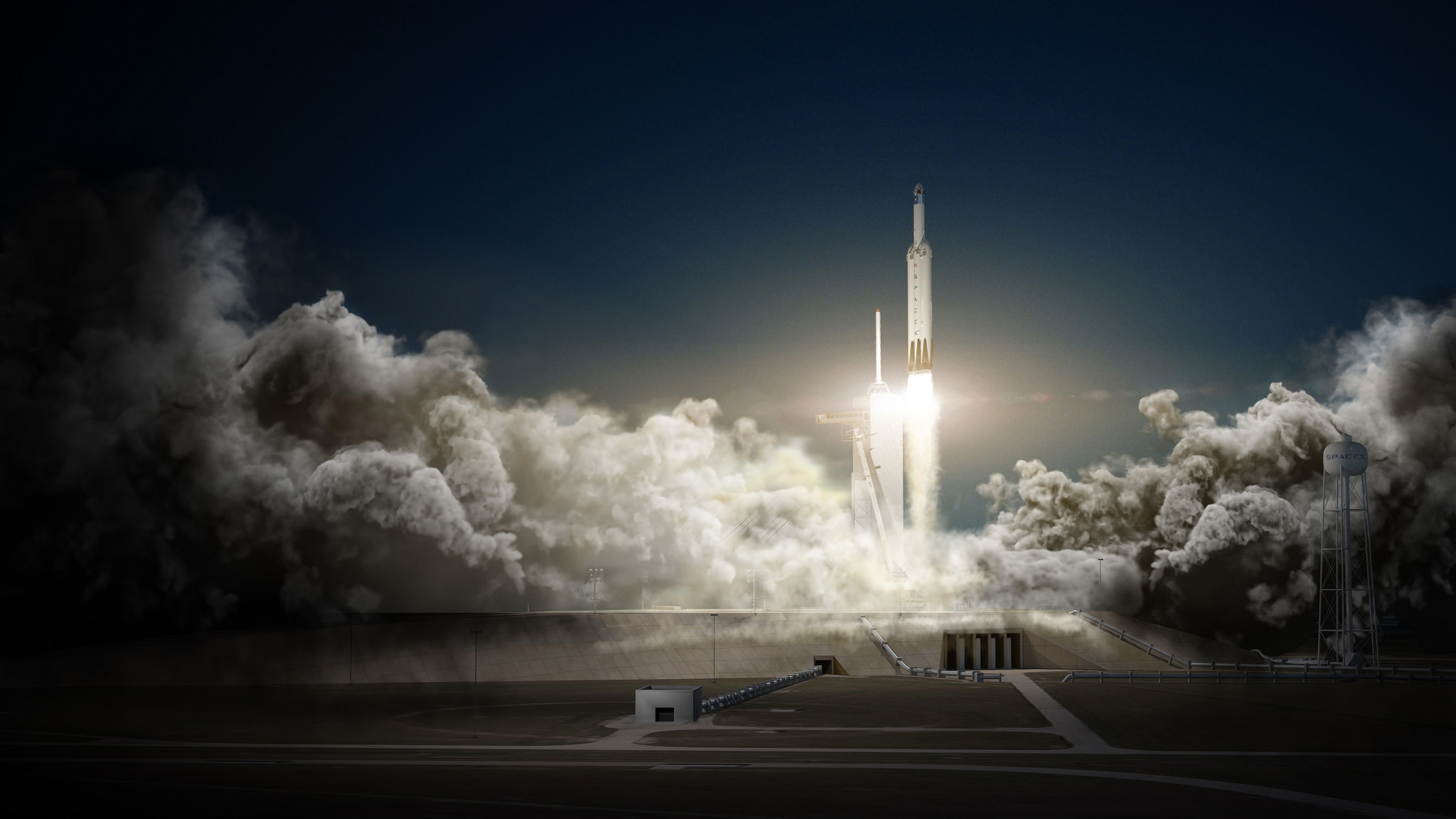 Is 2017 the year the Falcon Heavy finally takes flight?