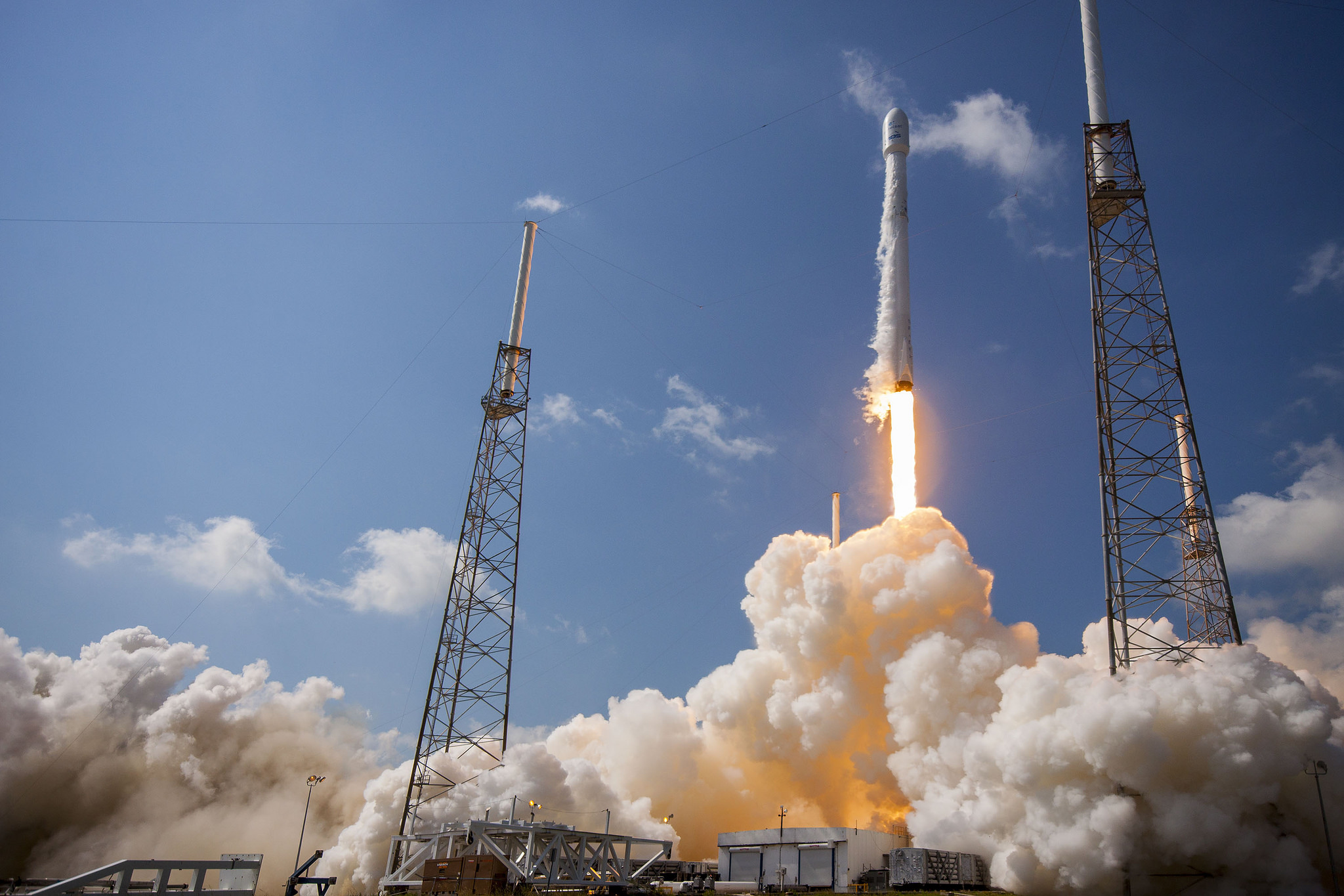 spacex rocket in flight - photo #16