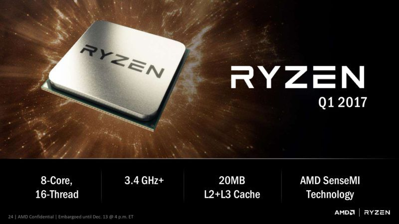 AMD's Zen CPU is now called Ryzen, and it might actually challenge Intel