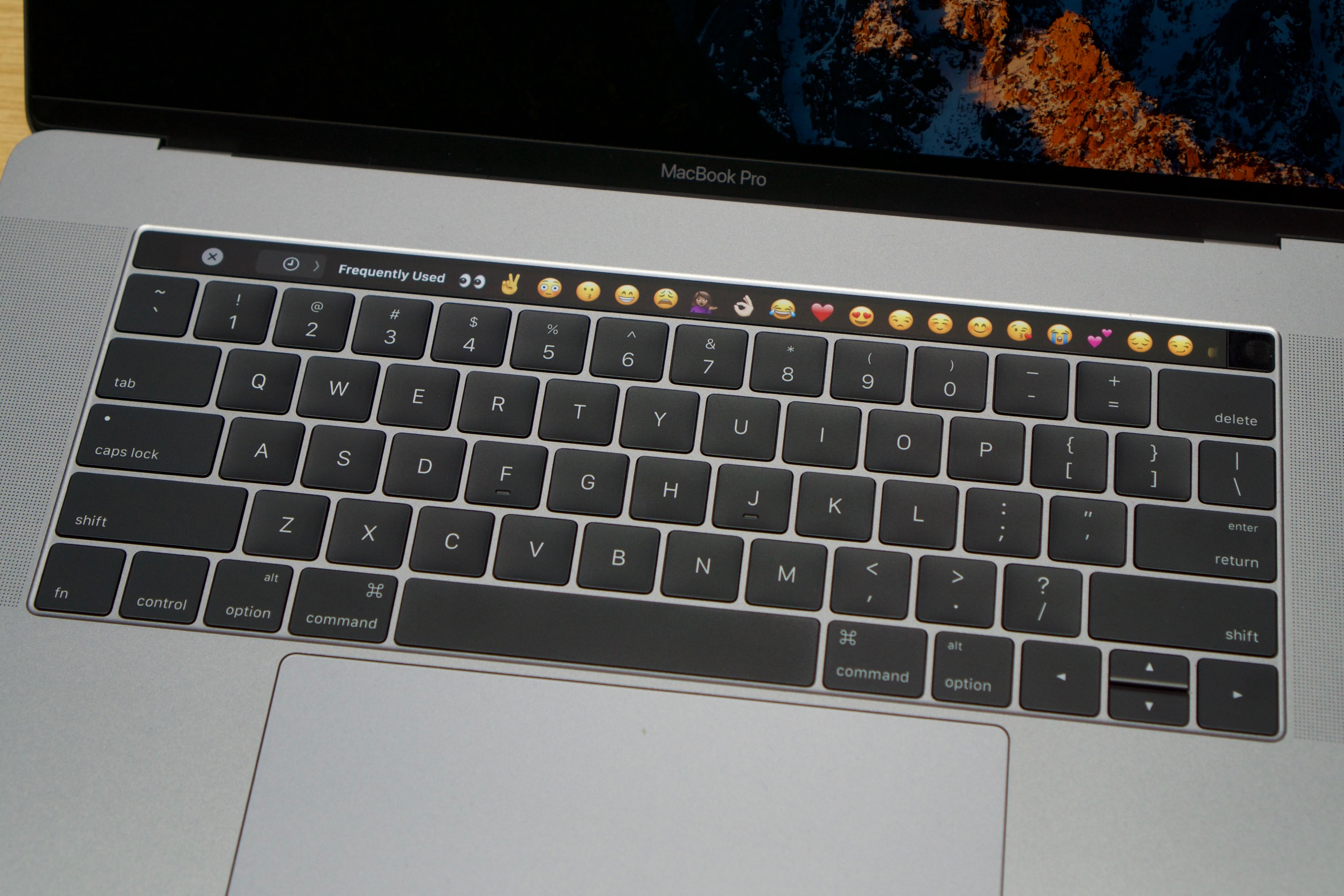 The Touch Bar is going to draw some power, but its impact should be relatively limited.