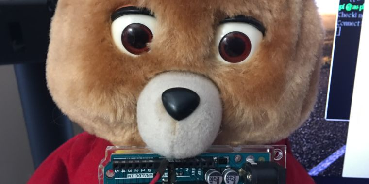 You can't unsee Tedlexa, the Internet of Things/AI bear of your nightmares thumbnail