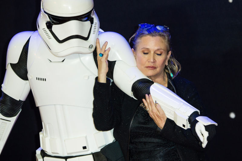 Carrie Fisher, 1956-2016