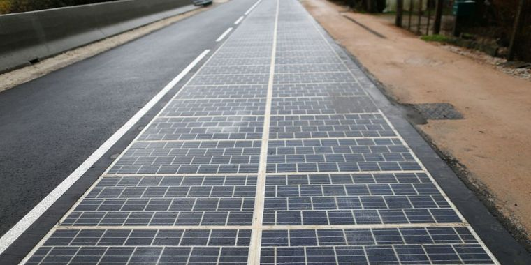 World S First Solar Road Opens In France It S