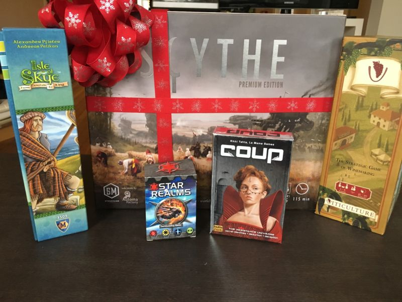 Ars Cardboard's 2016 board game gift guide