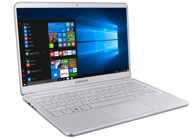 Samsung claims sleek new laptops are lightest on market, at just 1.8lbs