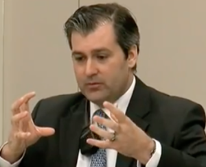 Michael Slager testifying.