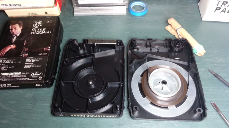 Forgotten audio formats: 8-track tapes