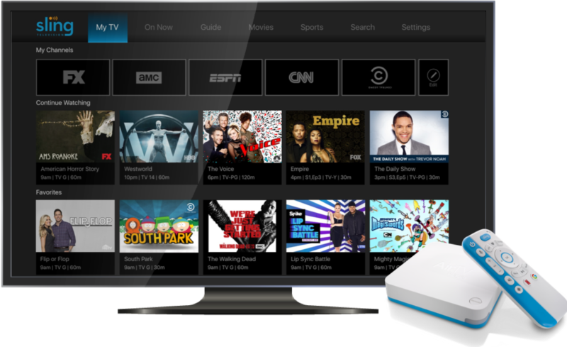The Sling AirTV Player.
