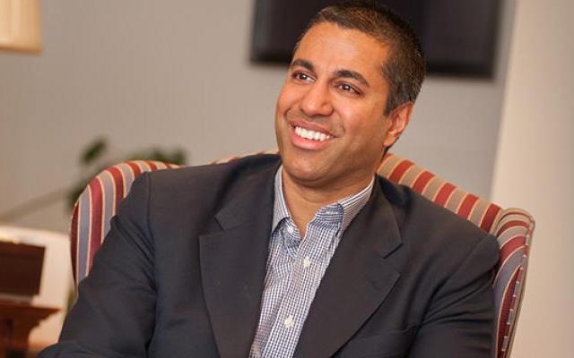 FCC Commissioner Ajit Pai.