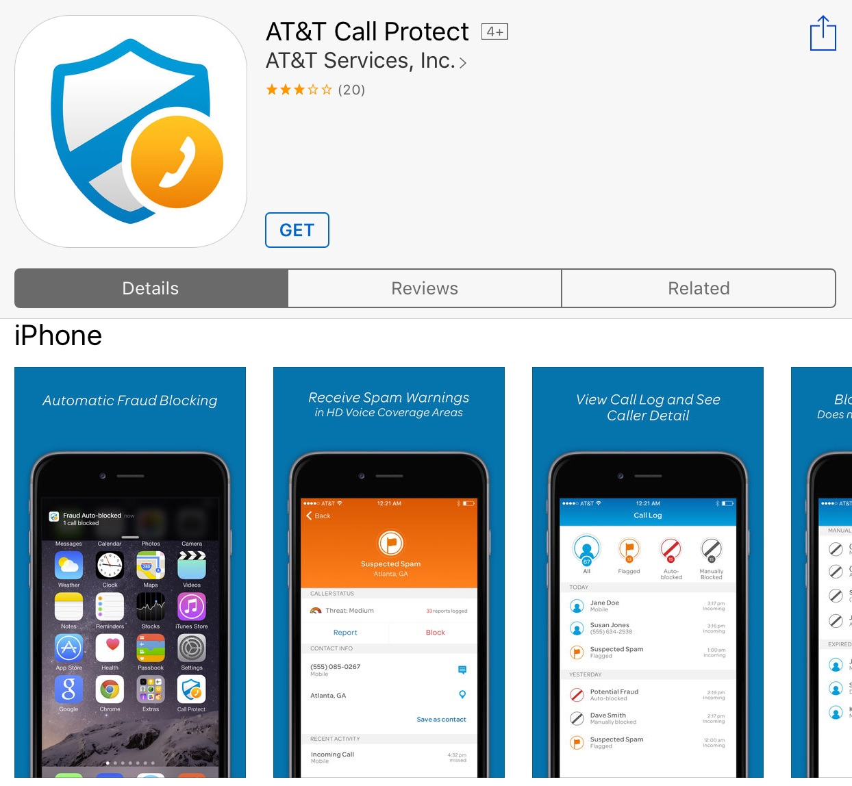 Att unveils network level robocall blocking call spam warnings enlarge att ccuart Choice Image
