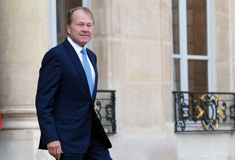 John Chambers, executive chairman of Cisco, on a visit to France earlier this year.