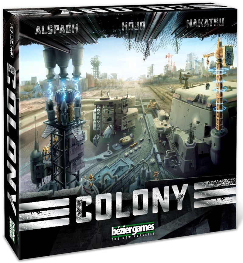 Colony: City-building after the nanotech apocalypse