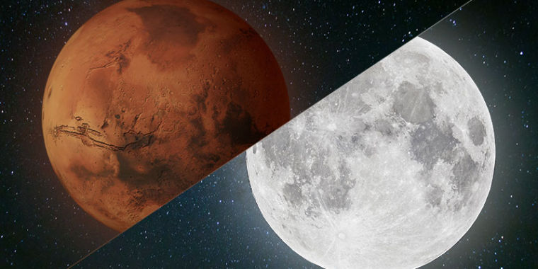 Nasa S Next Stop Mars Or The Moon Ars Technica
