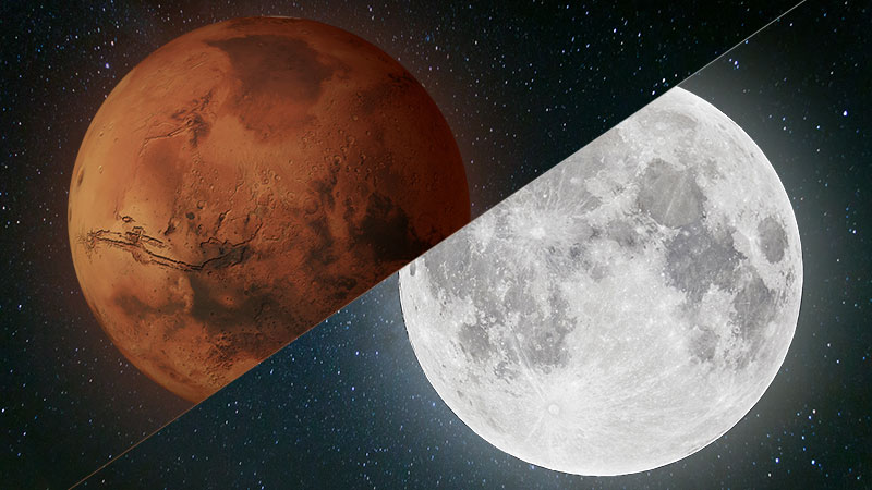mars compared to the moon - 800×450
