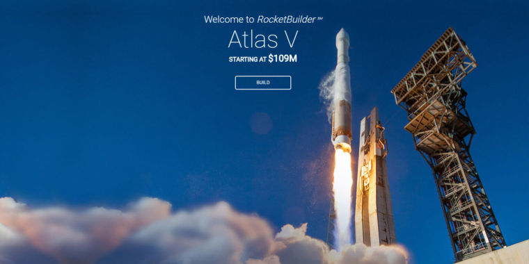 You can now build, cost, and launch an Atlas V rocket from your browser