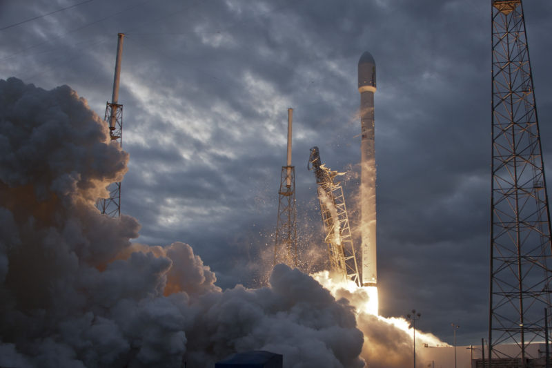 SpaceX successfully launched the THAICOM 6 satellite in January 2014, aboard its Falcon 9 rocket.