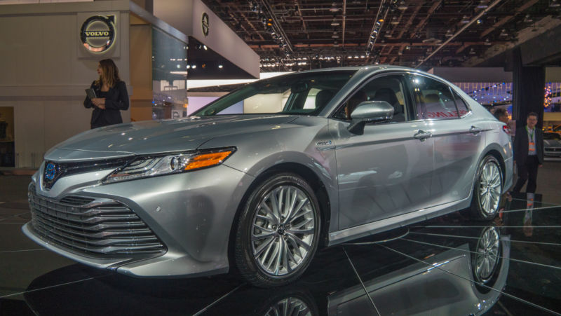 The all-new Toyota Camry. It's lower and wider and sleeker than before, and we think that from this angle it succeeded in making it look quite sporty.