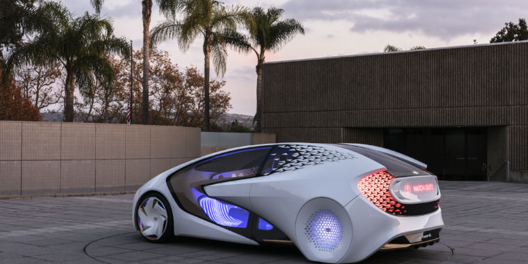 Image result for Concept-i is Toyota's friendly future
