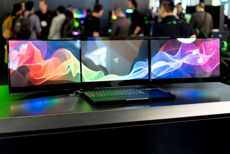 Two of Razer's prototypes were stolen from its CES booth