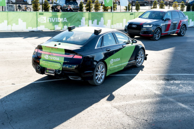 Taking a ride in Nvidia's self-driving car