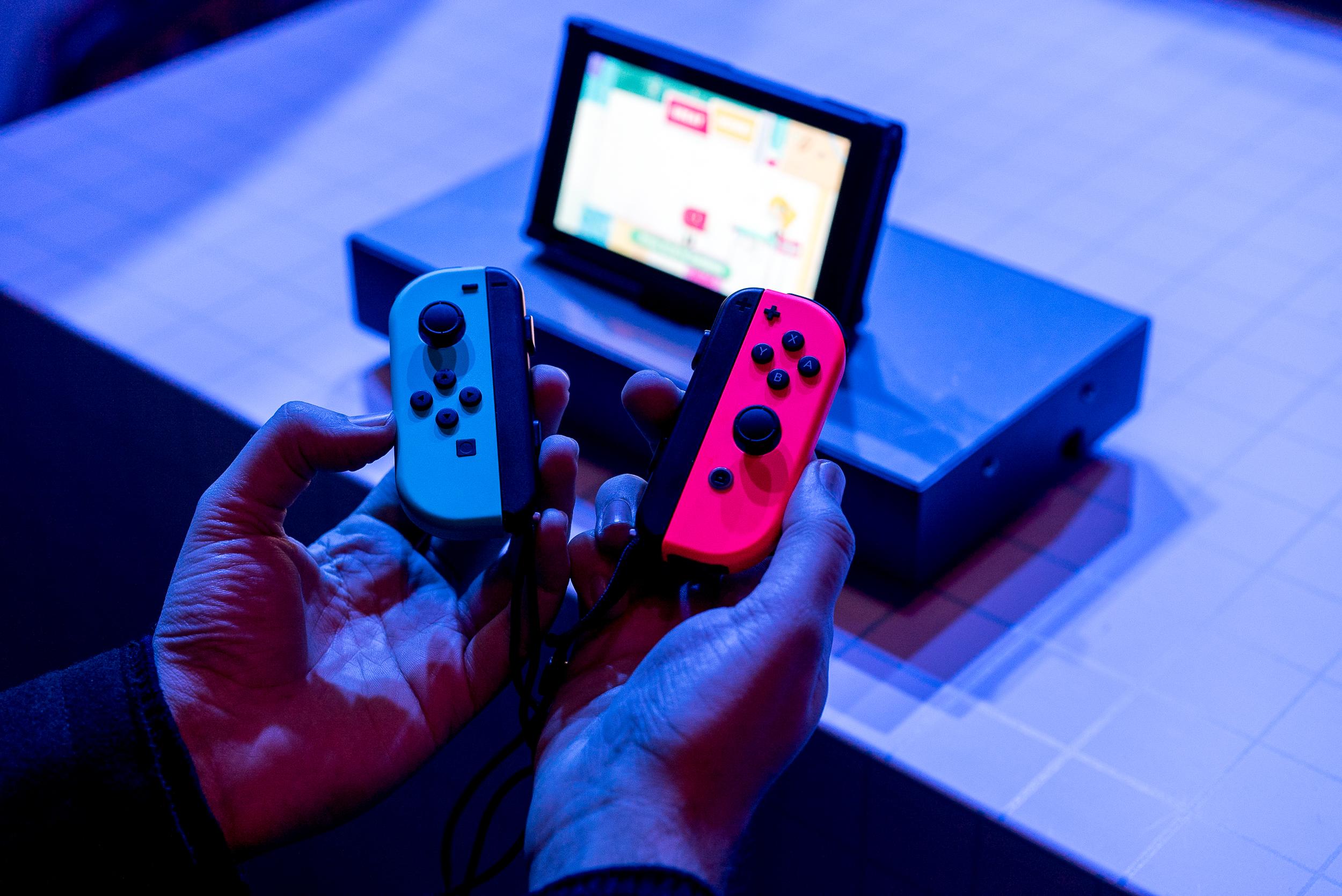 Nintendo's Joy-Con controllers.