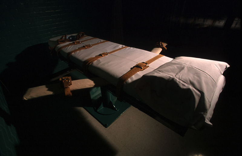 A Texas death chamber in Huntsville, Texas.