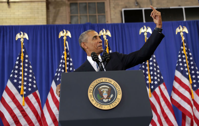 Probably not in President Obama's Social Media Archive: this fake-selfie moment.