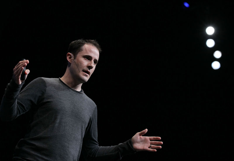 Medium CEO Evan Williams, as seen in 2010.