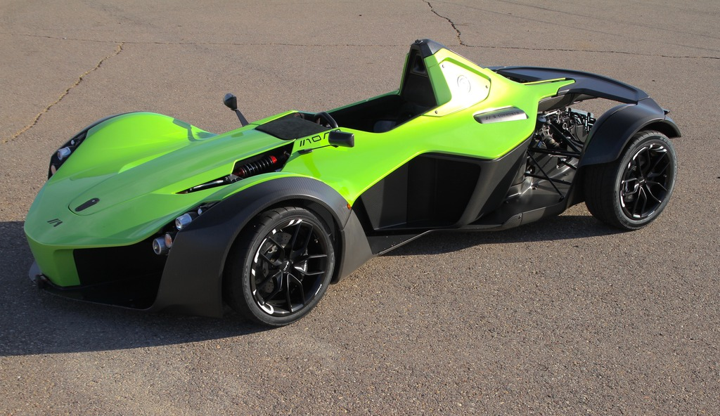 The BAC Mono is basically a Formula 3 car for the road | Ars Technica
