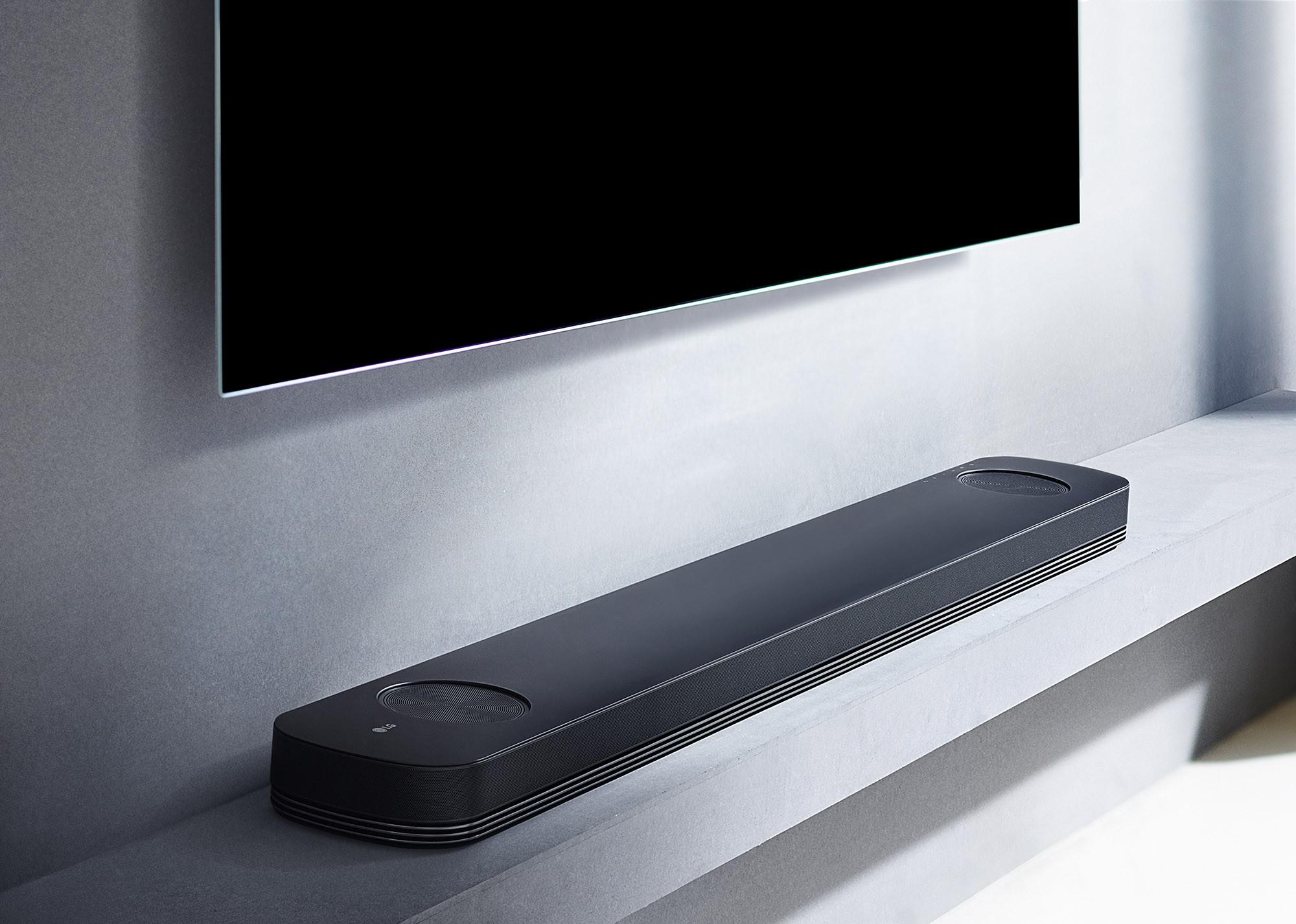 lg tv with soundbar. enlarge lg tv with soundbar a