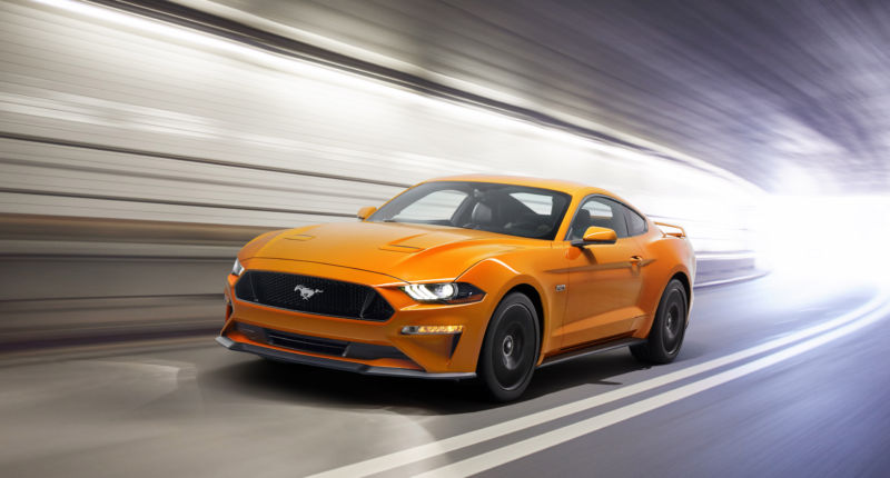 The 2018 Mustang will have driver assist tech, 10-speed transmission option