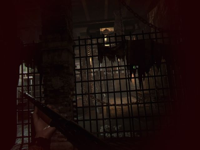 Don't let the floating hands trick you, though: You have to use a traditional controller, even on PSVR. <em>RE7</em> has been tuned very well as a sit-down VR game, with default settings that keep nausea at bay.