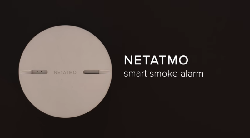Netatmo challenges Nest with smart smoke detector, adds siren to camera