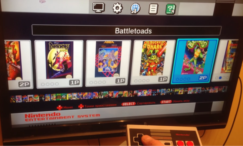 <em>Battletoads</em> on the NES Classic Edition? If you're willing to take a risk via modding, you too could add this and other games to your own little system.