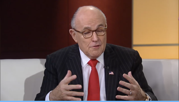Rudy Giuliani explains the cyber.