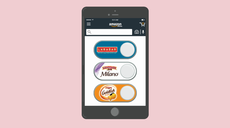 Amazon turns Dash Buttons digital, puts one-click buying on its homepage